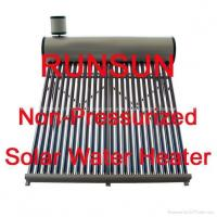 Color Steel Solar Water Heater(Cheapest solar water heater)