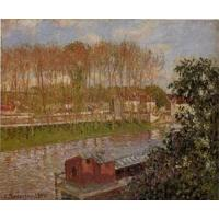 Wholesale Impressionist(3830) Setting_Sun_at_Moret from china suppliers