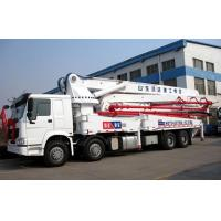 Buy cheap Concrete Boom Pump Truck from wholesalers