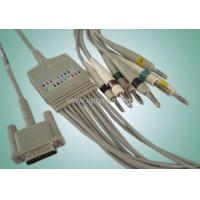 Best HP One Piece 10-lead EKG Cable with Leadwires wholesale
