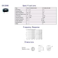 Wholesale Magnetic Transducer/Buzzer CX12040 from china suppliers