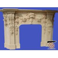 Wholesale Flower Carved FLOWER CARVED FIREPLACES from china suppliers