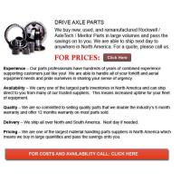 China Drive Axle for Forklifts on sale