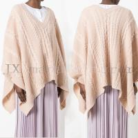 Wholesale cable knit poncho JX20170016S from china suppliers