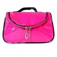 Wholesale leather make up bags from china suppliers