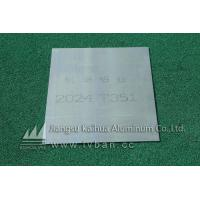 Buy cheap Quenching aluminum plate 2024 T351 aluminum plate from wholesalers