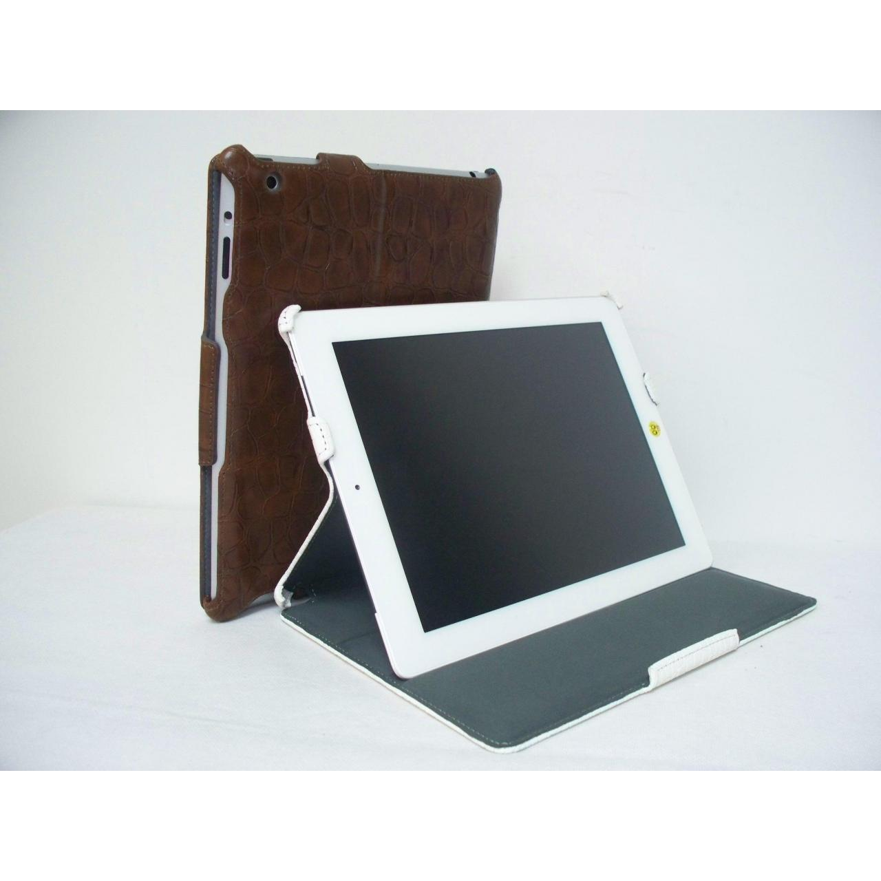 Buy cheap HOT-FORMING SLIM LEATHER CASE for new ipad from wholesalers