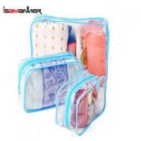 Buy cheap School Bags 3 Different size cheap pvc clear makeup bag from wholesalers