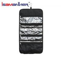 Buy cheap School Bags Tri-folded toiletry bag clear folding toiletry bag hanging from wholesalers