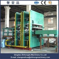 2100T Rubber Sheet , Rubber Floor Mat Vulcanizing Press