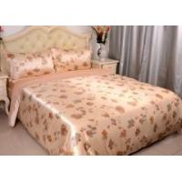 Wholesale 3pcs 19mm 100% Pure Silk Duvet Cover Pillow Cases Bed Linen Set Floral Printed Seamless from china suppliers
