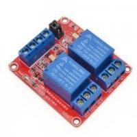Wholesale 5V/12V/24V 2 Channel Relay Module Supportthe high and low level trigger (Red board) from china suppliers
