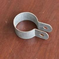 Buy cheap Half Round Clamp for Greenhouse Galvanized Steel Pipe Connector from wholesalers