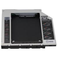 Wholesale Brand new 12.7mm SATA (ODD) to IDE (HDD) 2nd HDD enclosure(caddy) from china suppliers