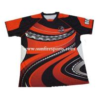 China factory new design custom sublimated rugby jersey on sale