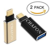 Wholesale Chafon Type-C to USB 3.0 Adapter-Gold Black from china suppliers