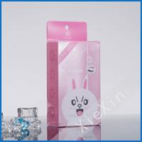 China custom logo printed clear plastic gift box for sale