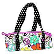 ES00095 Reactive printed velour towel duffel bag