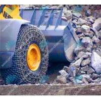 26.5-25 steel tire chain/tire chains used on stone mining