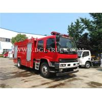 4*2 ISUZU 7CBM foam fire truck for sale