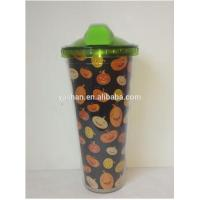 Wholesale 16OZ Double Wall Plastic Travel Mug from china suppliers