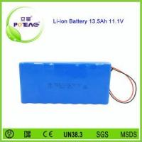Wholesale OEM 12V 18650 13.5Ah li-ion 11.1v rechargeable battery pack from china suppliers