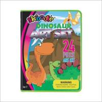 Wholesale 24 Piece Dinosaur Art Sets from china suppliers