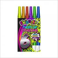 6 Pack Twist-Up Crayons