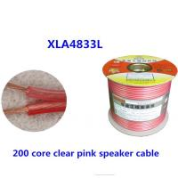 Wholesale WIRES & CABLES Double core transparent pink speaker cable from china suppliers
