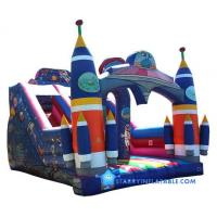 Wholesale Commercial alien inflatable bouncy castle with slide from china suppliers