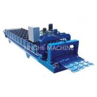 Industrial Aluminum Step Tile Roll Forming MachineWith Metal Slitter Machine
