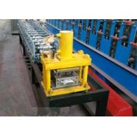 5.5 M Length Roll Shutter Door Forming Machine With 8 - 15m / Min Working Speed