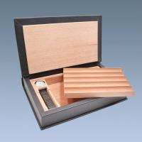 Wholesale Custom Desktop Personlized Cigar Humidor Box from china suppliers