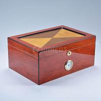 Wholesale Cheap OEM Volenx Vintage Travel Tobacco Cigar Box Humidor from china suppliers