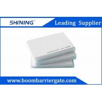 Wholesale 0.86mm 13.56 MHz Smart PVC RFID Card For Electronic Toll Collection Management from china suppliers