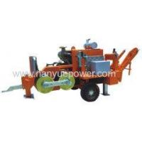 China 180kN Hydraulic Cable Puller cable pulling tools cable pulling winch equipment manufacturers on sale