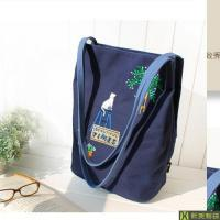 Wholesale Canvas bag 2017 embroidery canvas bag from china suppliers