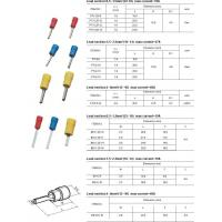 Wholesale ELRCTRICAL ACCESSORY PIN INSULATED TERMINALS from china suppliers