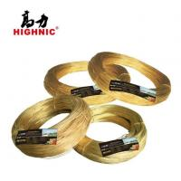 Buy cheap Brass Round Wires and Copper Wire for Zipper, Jewelry, Hardware, Communication Cable from wholesalers