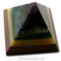 Wholesale 7 Chakra Gemstone Pyramid - 1 from china suppliers