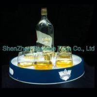 Wholesale Rechargeable battery powered Customized logo led serving tray for bar from china suppliers