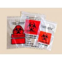 Wholesale Autoclave biohazard bags Lab Specimen Transport Bags/Zip Bags With Pocket from china suppliers