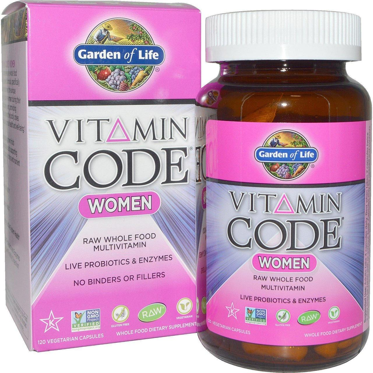 China Garden Of Life, Vitamin Code, Women, 120 Veggie Caps (ordinary Garden Of Eden Vitamins #1) on sale