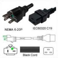 Wholesale NEMA Straight Blade Power Cords 9303 from china suppliers