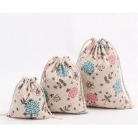 Wholesale Custom fancy printing jute storage bag from china suppliers