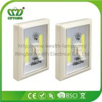 Wholesale Promotion Magnetic Velcro Plastic 6W COB LED Wall Switch Light with CE RoHS BSCI from china suppliers