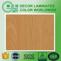 Red Maple metallic plastic Formica sheets/Compact laminates/Wood grains2006