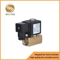 brass valve 24V brass 2 way direct acting water/gas/oil/air control low price solenoid valve
