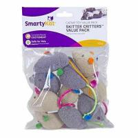 Wholesale SmartyKat Skitter Critters Catnip Cat Toys Value Pack, 10 Count from china suppliers