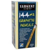 Classroom & Office Sargent Art #2 Graphite Pencils, Box of 144
